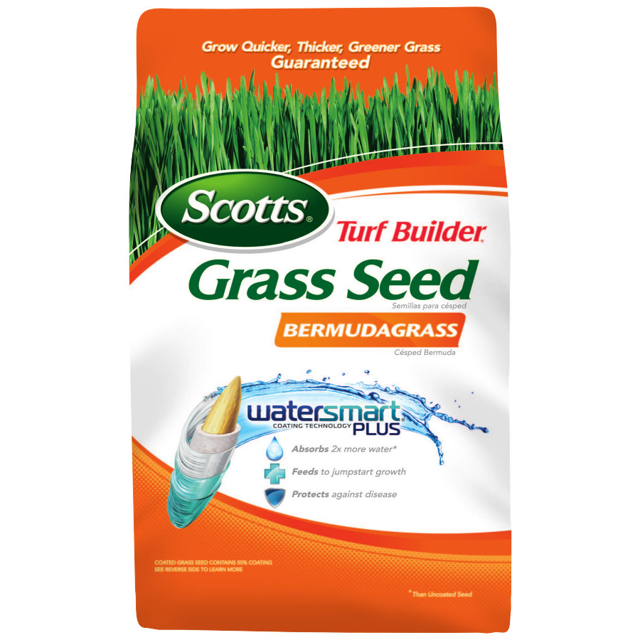 Scotts Turf Builder Grass Seed Bermudagrass 1lb - 18350