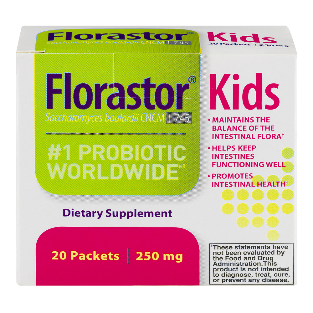 Florastor Kids #1 Probiotic Worldwide Dietary Supplement - 20 CT