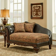 Chelsea Home Arlene Upholstered Chaise