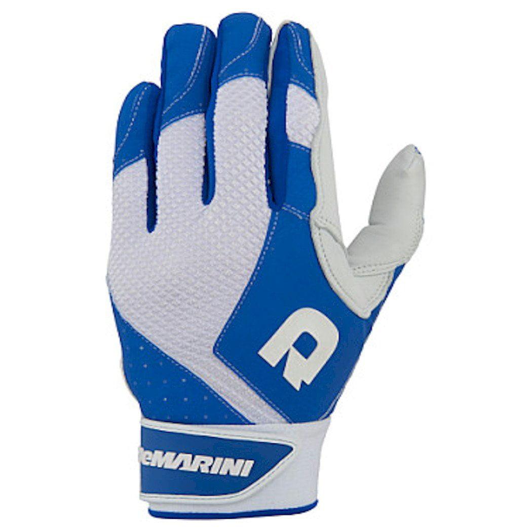 DEMARINI Women's Phantom Batting Gloves, Royal, X-Large