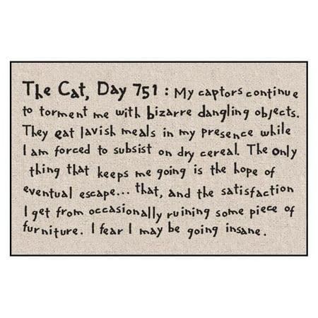 The Cat Day 751 Indoor/Outdoor Door Mat