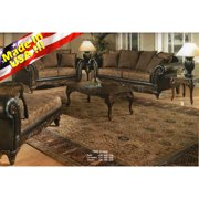 Roundhill Furniture San Marino Sofa and Loveseat Set