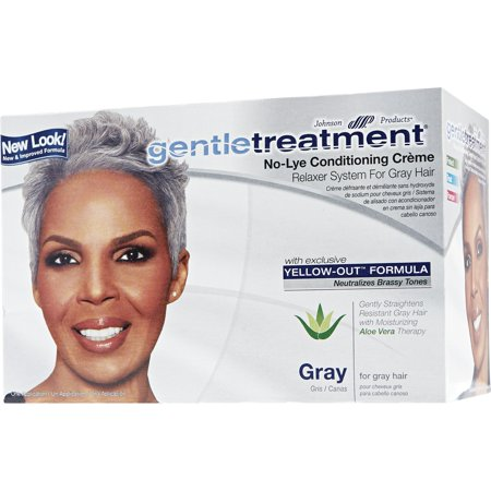 No Lye Conditioning Crème Relaxer for Gray Hair By Gentle Treatment