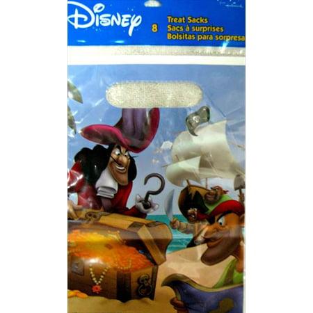 Captain Hook and Peter Pan Favor Bags (8ct) (Peter Pan Party)