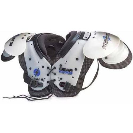 Air Tech Intimidator Junior Football Shoulder Pads in Different -