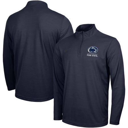 Penn State Nittany Lions Nike Intensity Performance Quarter-Zip Pullover Jacket - Navy Nike Football Jacket