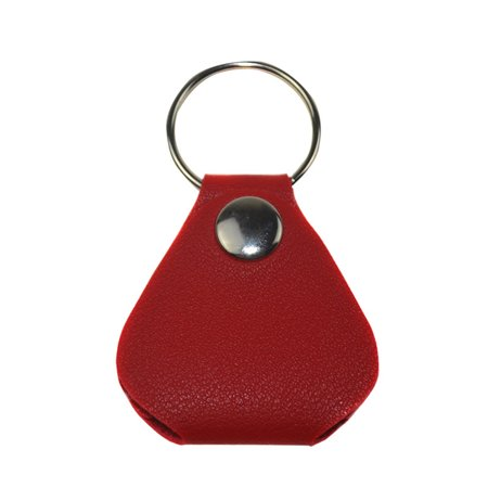 Guitar Picks Case Coin Purse Leather Key Chain Style Guitar Picks Holder Plectrums Case Key Ring (Guitar Pick Key Chain Case)