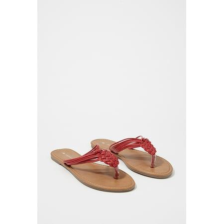 5bbf0d72a Urban Planet Women s Woven Flip Flop Sandal - image 1 ...