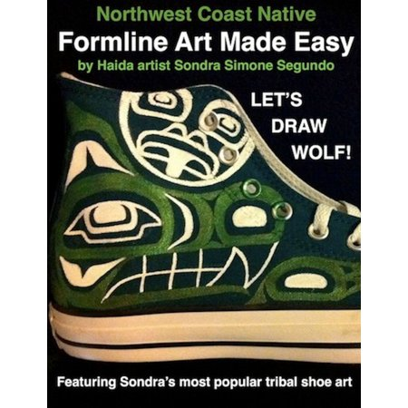 Northwest Coast Native Formline Art Made Easy-Let's Draw Wolf - - Halloween Wolf Drawing