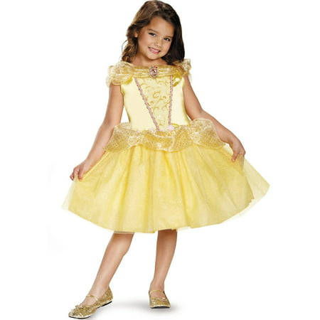 Disney's Beauty and the Beast Belle Classic Toddler Costume - Belle And The Beast Halloween Costumes