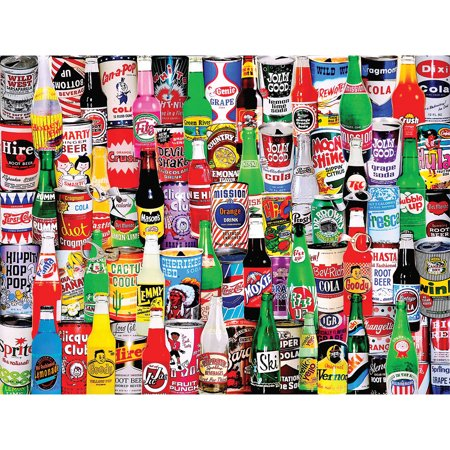 Jigsaw Puzzle  1000 Pieces  24   X 30    Soda Pop