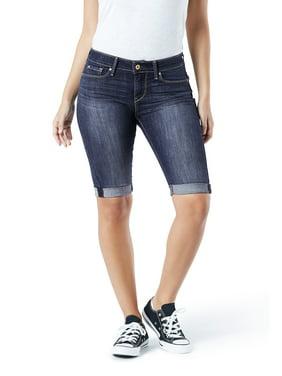 Women's Modern Mid Rise Skinny Short