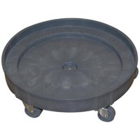 Wesco Industrial 240201 Plastic Drum Dolly 30-55 Gallon by Wesco Industrial Products