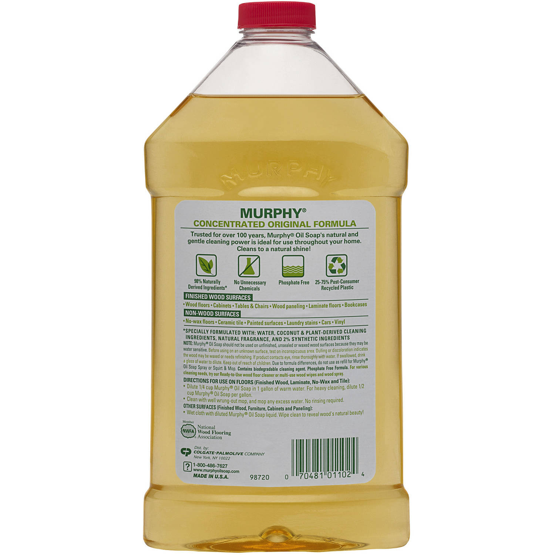 Murphy 101103 Oil Soap Liquid 1 Gal Pack Of 4 General