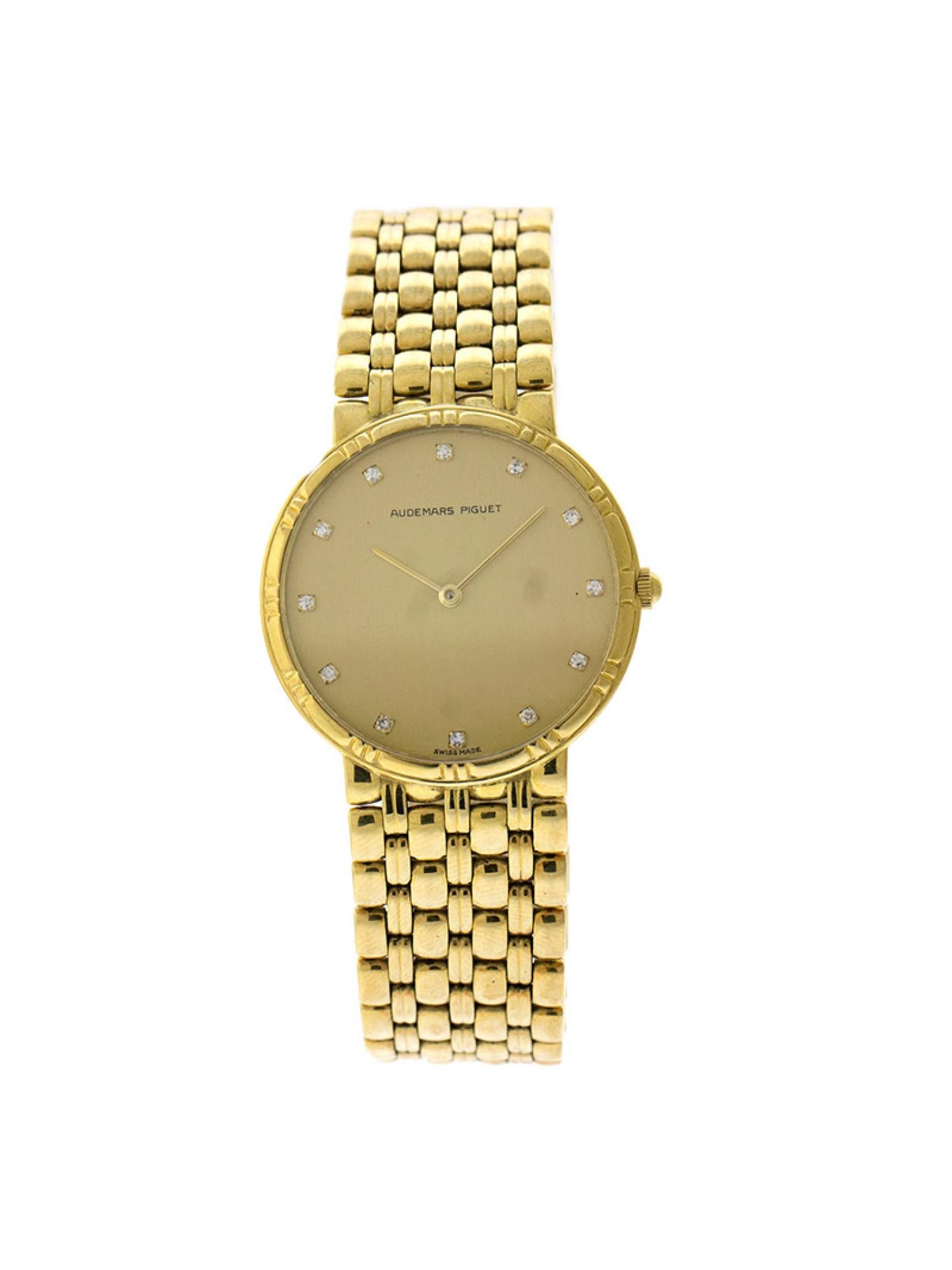 Audemars Piguet Womens 32.7mm Watch WAP1033NRDCR Pre-Owned