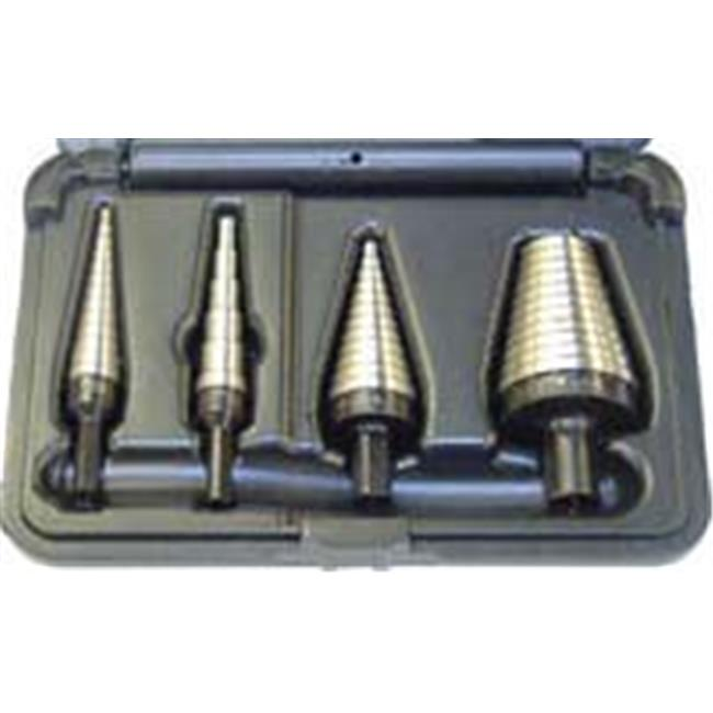 Irwin Industrial Tool Vg10225 4-Pc Unibit Step Drill Sets