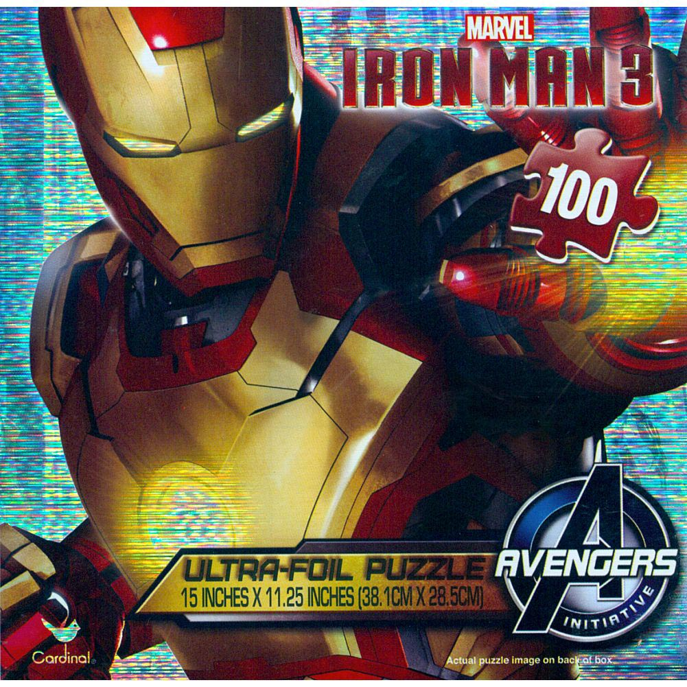 Iron Man Ultra Foil 100 Piece Puzzle
