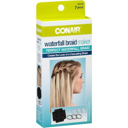 Conair Waterfall Braid Maker 7 Pc