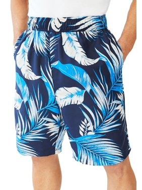 ea99e1e066 Product Image Ks Island Men's Big & Tall Ks Island Printed Swim Trunks