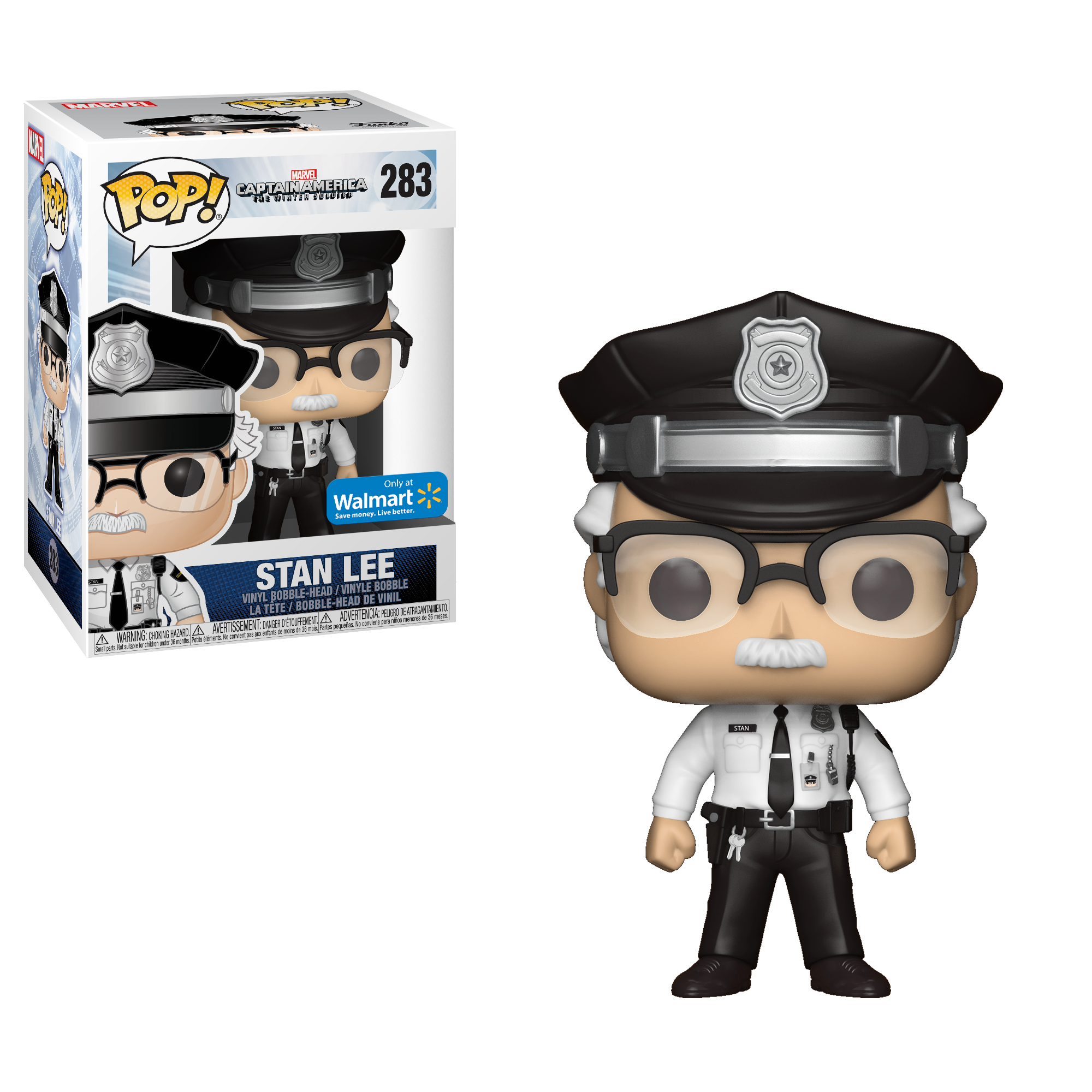 Funko POP! Marvel: Stan Lee Cameo Police Uniform by Funko