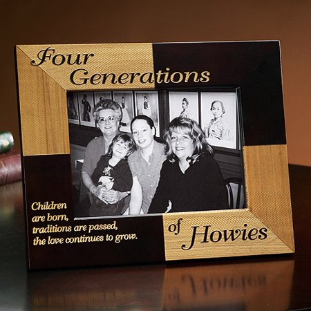 Personalized 3 Generations Frame - Walmart.com