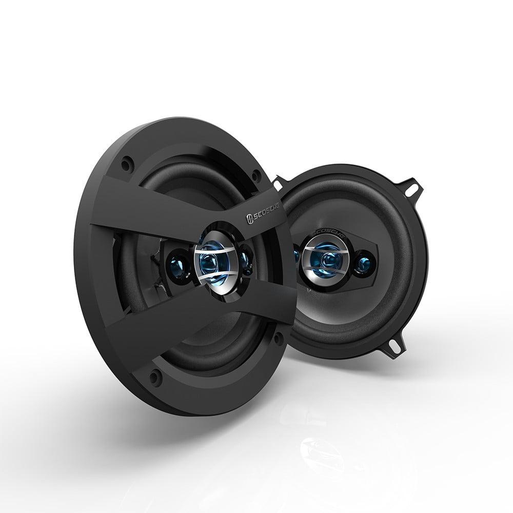 "Scosche HD5254F - HD Speakers | Speakers for Cars | 5.25"" Set"