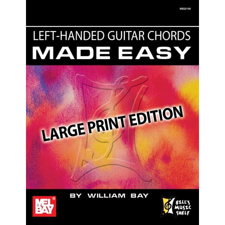 Left-Handed Guitar Chords Made Easy - eBook Left Hand Guitar Chord Book