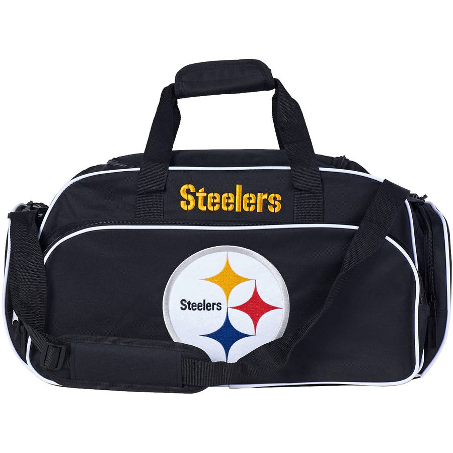 "NFL Pittsburgh Steelers ""Stymie"" Duffel Bag"