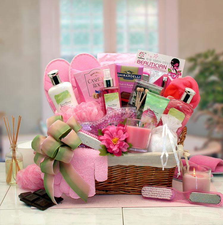 Gift Basket 8413552 Sweet Blooms Spa Gift Basket