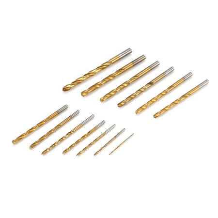HSS Drill Bits 1.5-6.5mm Rotary Tool Hole Saw Titanium Coated Woodworking - image 2 of 10