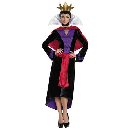 Morris Costumes Adult Womens Disney Snow White Evil Queen Dress 8-10, Style DG85702B (Snow White Evil Queen)