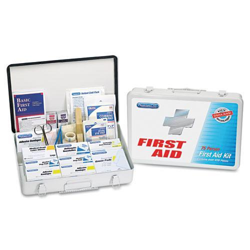 ACME UNITED CORPORATION                            Physicianscare First Aid Kit For Up To 75 People, Contains 419 Pieces