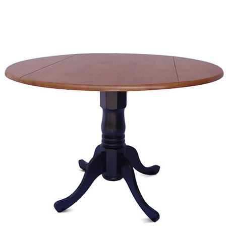 international concepts 42 round dual drop leaf dining table - Drop Leaf Round Kitchen Table