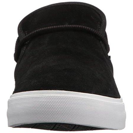 Supra Cuba Black/White/Suede Sneaker Men's 10.5, Women's 12 D - Medium - image 1 of 4