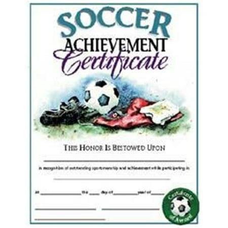 Olympia Sports AW179P Soccer Certificates - Walmart.com