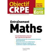 Objectif CRPE Entrainement en maths 2020 - eBook