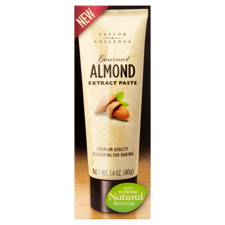 Almond Paste Pastry (Taylor & Colledge Gourmet Almond Extract Paste, 1.4 oz, 8)
