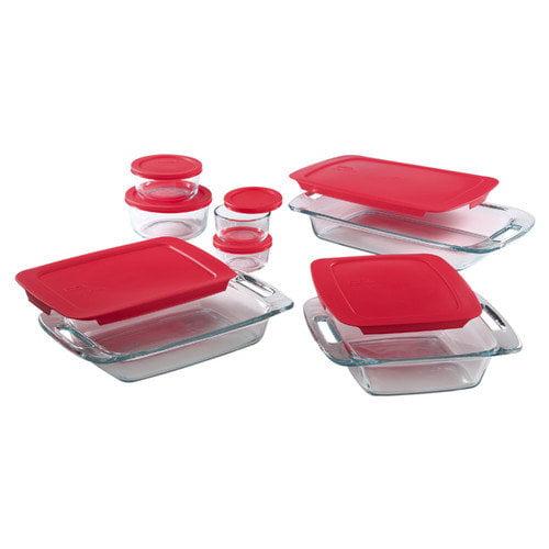 Pyrex Easy Grab 14pc Bakeware Set