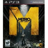 Metro Last Light - PlayStation 3