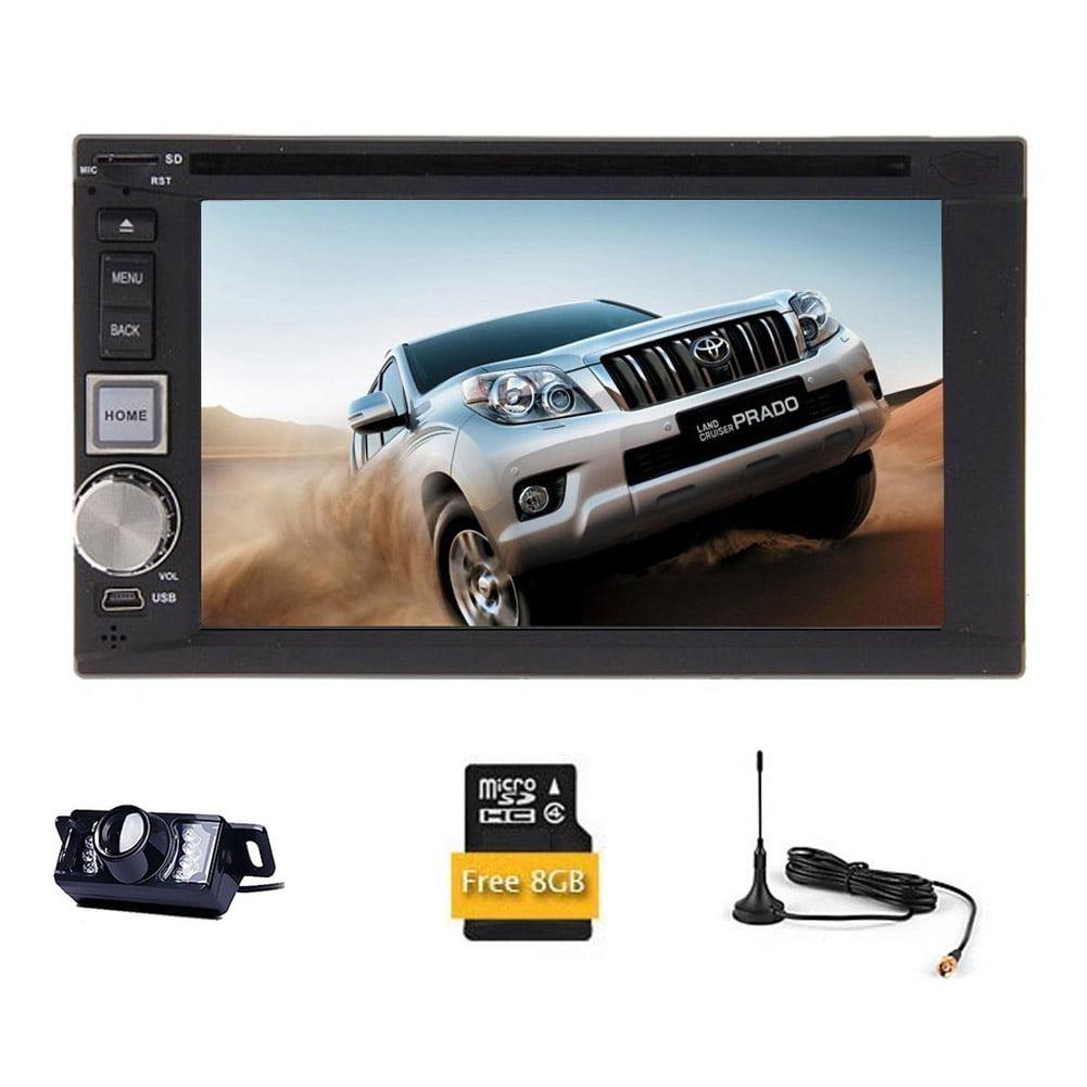 Universal 2 Din Car DVD Player RDS Autoradio Car Stereo M...
