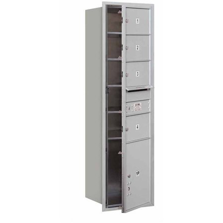 Salsbury Industries 4C Horizontal Mailbox 15-Door High Unit (55