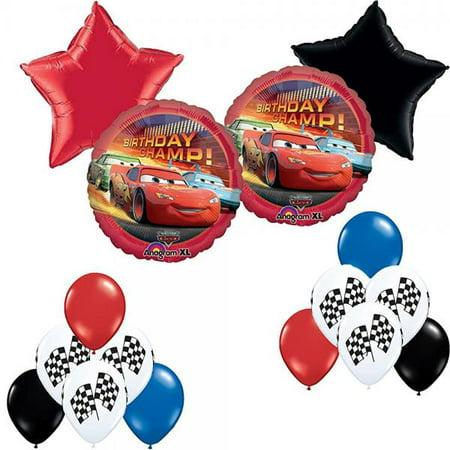 Disney Pixar Cars Birthday Party Balloon Decoration Kit