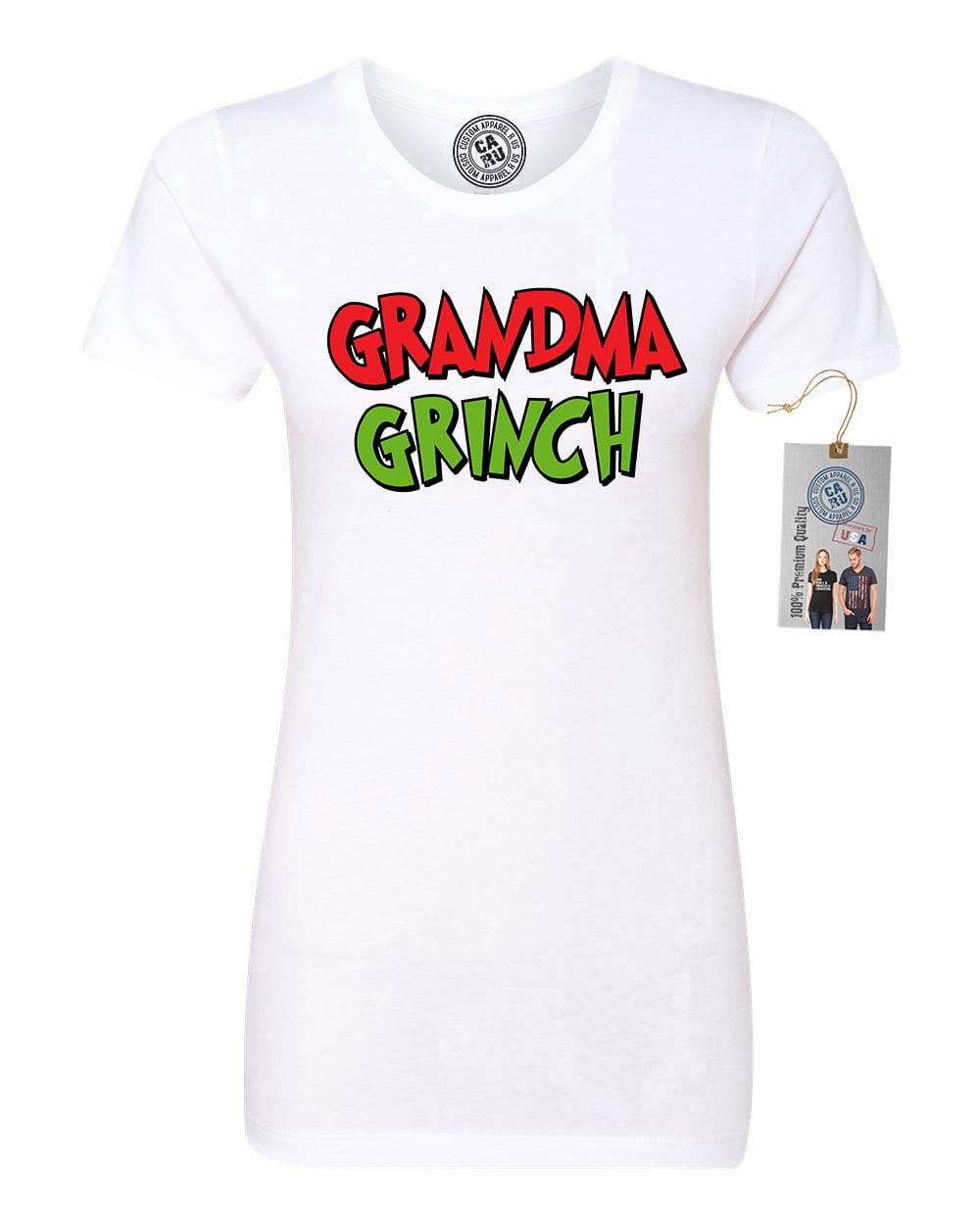 Custom Apparel R Us - Grandma The Grinch Womens Short ...