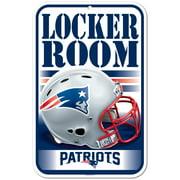 """New England Patriots WinCraft 11"""" x 17"""" Indoor/Outdoor Sign"""