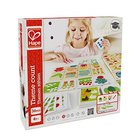 Hape   Home Education   Theme Count Math Card Game