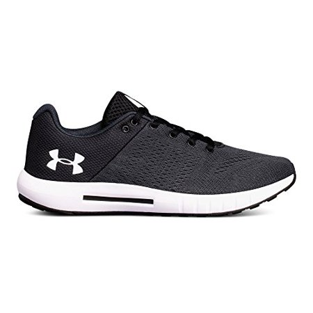 Under Armour Women's Micro G Pursuit Running Shoe, Anthracite (100)/Black, 10 B(M) 2E (Best Dress Shoes Under 100)