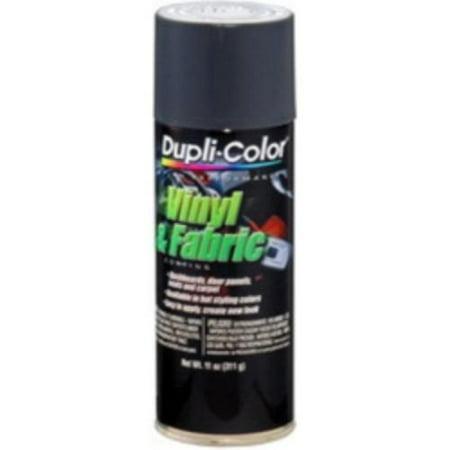 Dupli Color Aerosol Spray (Krylon HVP111 Dupli Color Vinyl & Fabric Spray High Performance Charcoal Gray 11 Oz. Aerosol )