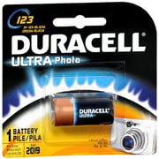 Duracell Ultra Photo Battery 3 Volt 123 1 Each (Pack of 2)