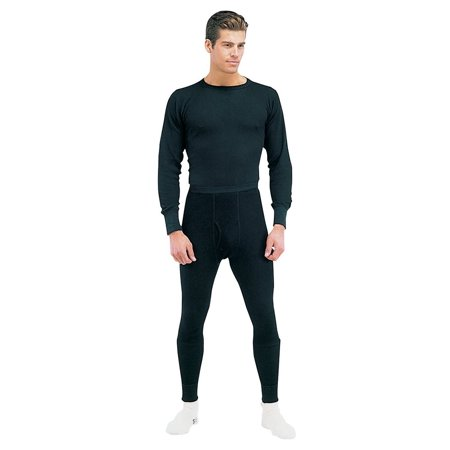 802.11b/g Direct Thermal (Rothco Thermal Knit Underwear Bottoms - Black,)