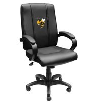 29 x 13 x 23 in. Georgia Tech Yellow Jackets Collegiate Office Chair 1000 with Buzz Logo - Black